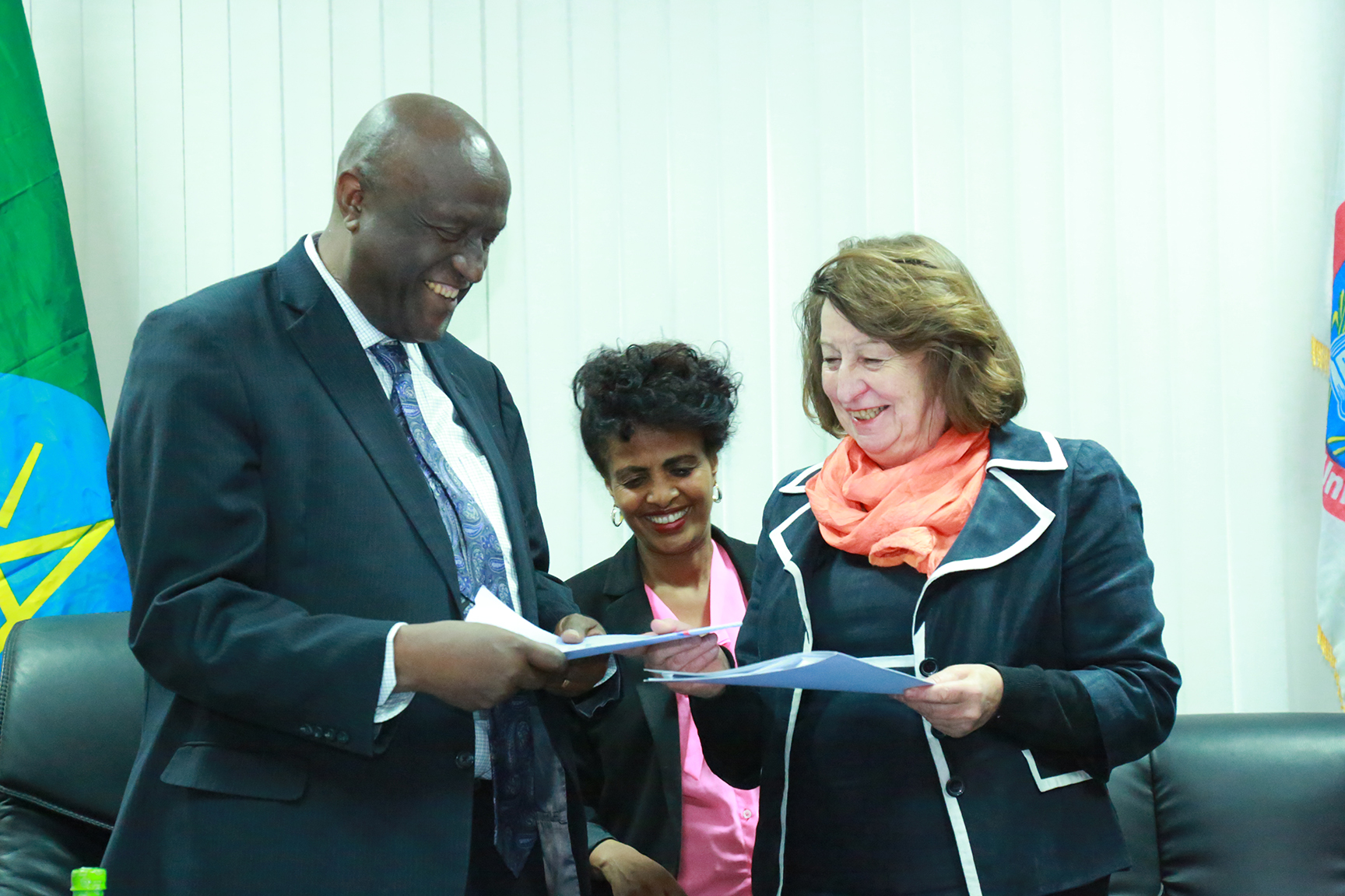 European Union Delegation to Ethiopia and Addis Ababa University Sign MoU on Cooperation
