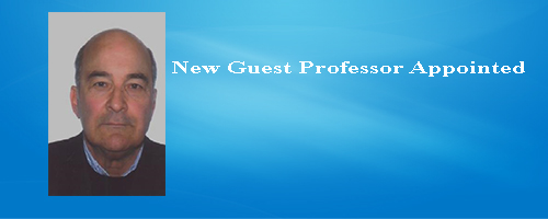 New Guest Professor Appointed