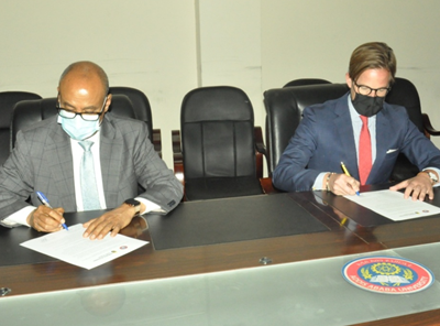 President of Addis Ababa University (AAU) and the Ambassador of Sweden to Ethiopia Sign Memorandum of Understanding