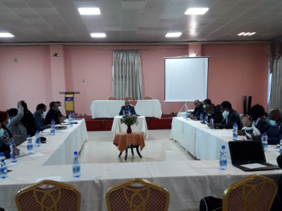 Sida Projects' Coordination Office (SPCO) organized a half-day Meeting.